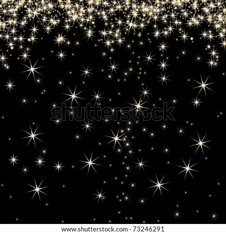 Stars on background