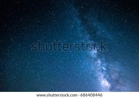 Stars Sky - Shutterstock ID 686408446