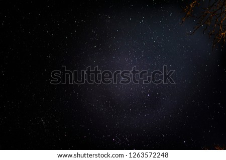 Stars through a haze #1263572248
