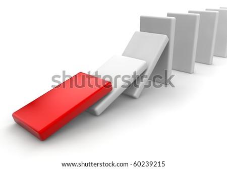 start domino