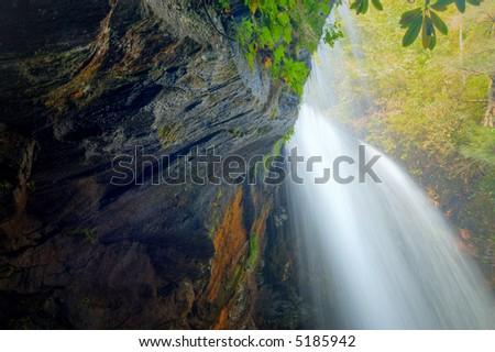 Start of a waterfall
