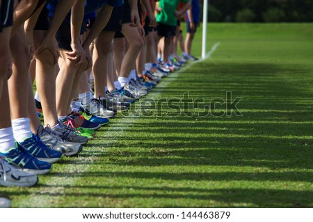 Start of Children's Running Race