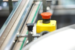 START - STOP Button for industrial machine, Emergeny Stop for Safety