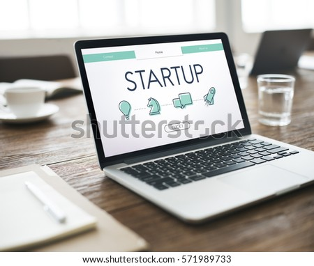 Start Up Business Venture Webpage #571989733