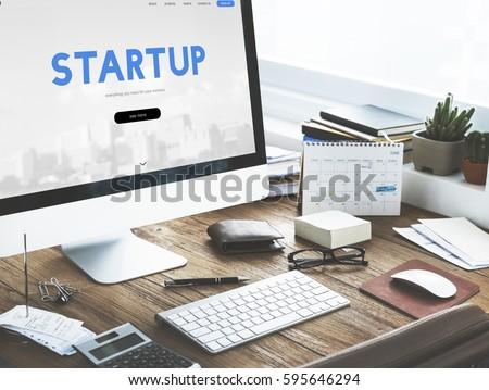 Start up Ideas Business Development #595646294