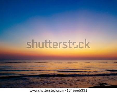 Start Your Day At Samila Beach Songkhla Thailand #1346665331