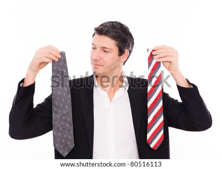 starting career comparing tie man business