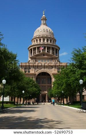State capitol Austin, Texas - stock photo