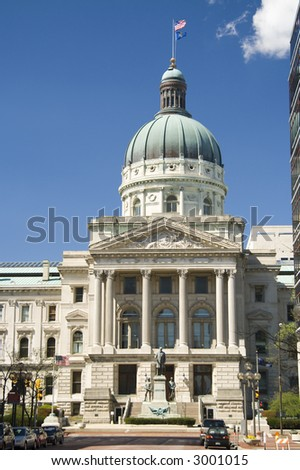 State Capitol Building in Indianapolis, Indiana