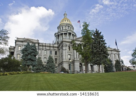 State Capitol of Colorado in Denver.