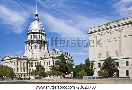State Capitol of Illinois in Springfield.