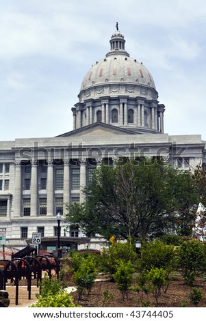 State Capitol of Missouri in Jefferson City.