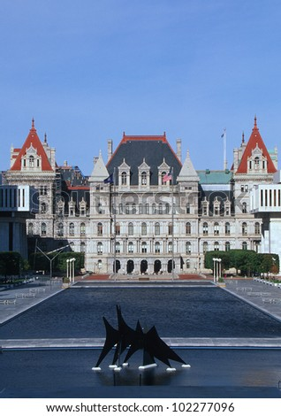 State Capitol of New York, Albany