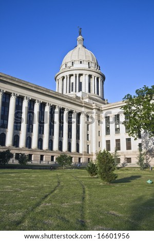 State Capitol of Oklahoma in Oklahoma City.