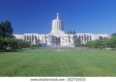State Capitol of Oregon, Salem
