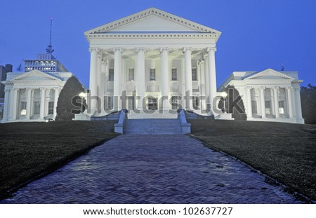 State Capitol of Virginia, Richmond