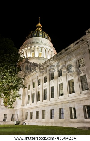 State Capitol of West Virginia in Charleston.
