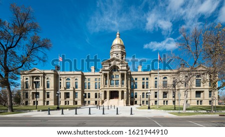 State Capitol of Wyoming in Cheyenne ストックフォト ©