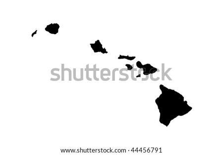 State of Hawaii - white background
