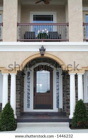 Stately front door