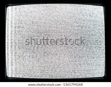 Analog TV Static Distortion Images and Stock Photos - Avopix com