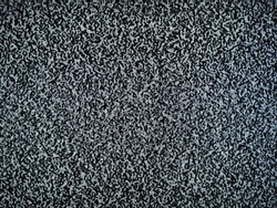 Static noise on detuned analog tv screen