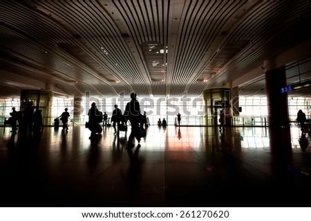 Station hall - Shutterstock ID 261270620