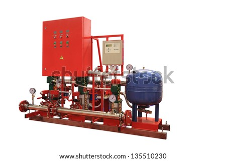 Station of Automatic fire Extinguishing for Enterprises and Buildings