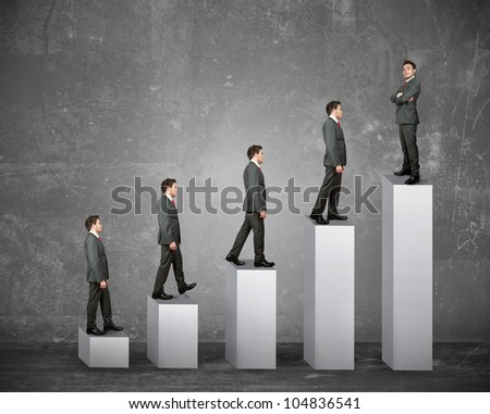 Statistics and business success of a businessman