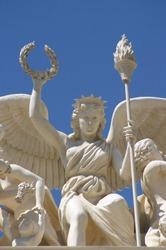 Statue carving at Caesars Palace, Las Vegas