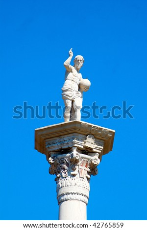 Statue in Italy