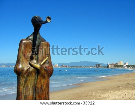 Statue in Puerto Vallarta, Mexico