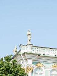 Statue in Saint Petersburg, Russia