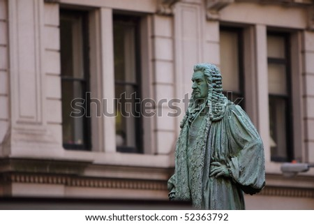 Statue in Trinity church on Wall Street