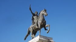 Statue of a horse