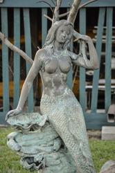 Statue of a Mermaid