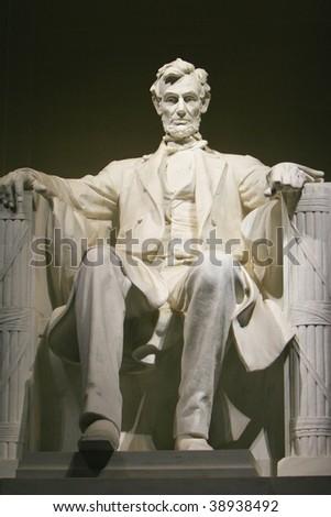 The Lincoln Memorial Washington Dc. at the Lincoln Memorial