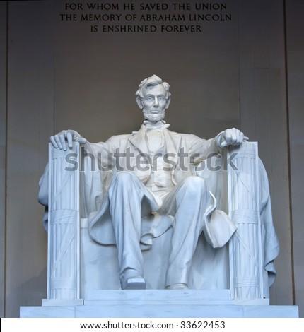 The Lincoln Memorial Washington Dc. in the Lincoln Memorial,