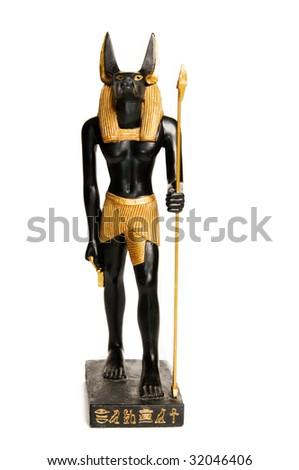 anubis egyptian god. Egyptian god Anubis over