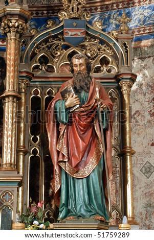Statue of apostle St Paul