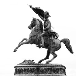 Statue Of Archduke Charles Of Austria at the Hofburg Imperial Palace in Vienna