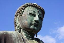 statue of Buddha in Kamakura, Japan