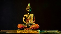 Statue of Buddha Sitting in meditation