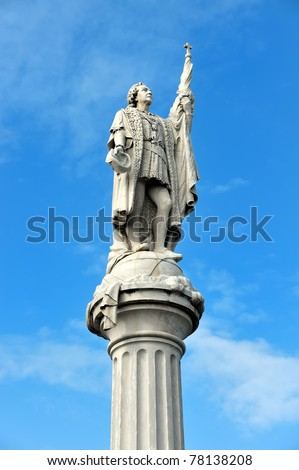 Statue of Christopher Columbus, San Juan, Puerto Rico