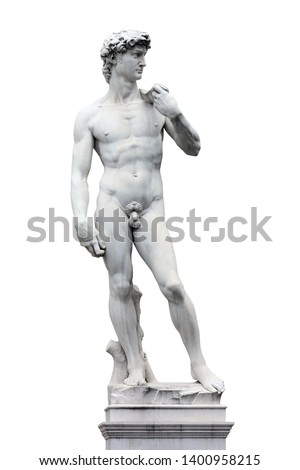 Statue of David realized by Michelangelo / Florence (Italy)