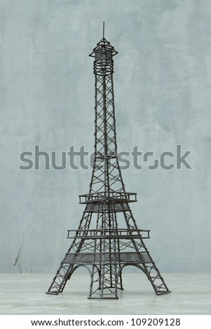 Statue of eiffel tower