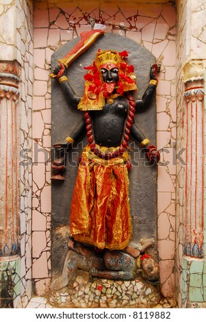 statue of hanuman, mythological indian monkey god