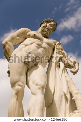 Statue of Hercules in Versailles, France