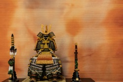 Statue of japanese armor