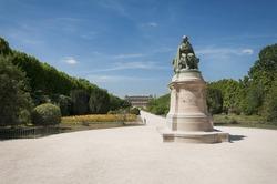 Statue of Jean-Baptiste Lamarck in the Jardin des Plantes, Paris